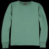 Chimala - 30/7 Fleece Sweatshirt in Green