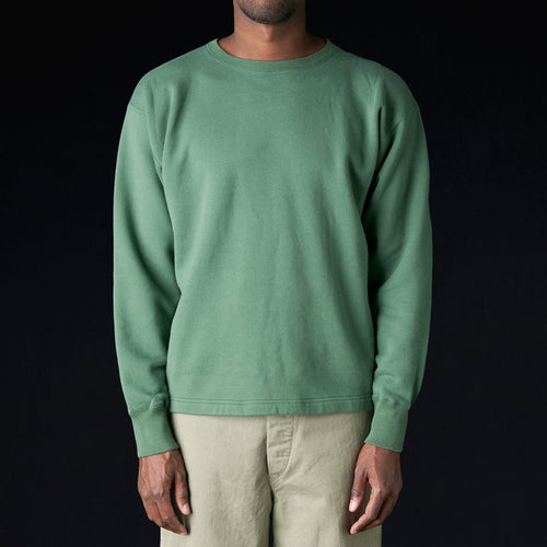 30/7 Fleece Sweatshirt in Green