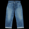 Chimala - 13.5oz Selvedge Denim Vintage Baggy Cut in Used Medium