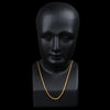Caputo & Co. - Chain Rope Necklace in 22k Gold Over Silver