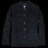 Arpenteur - Heavy Corduroy Raglan Jacket in Navy