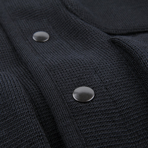 Milano Wool George Jacket in Black