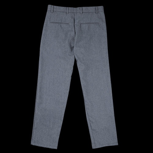 Wool Cotton Serge Service Pant in Grey