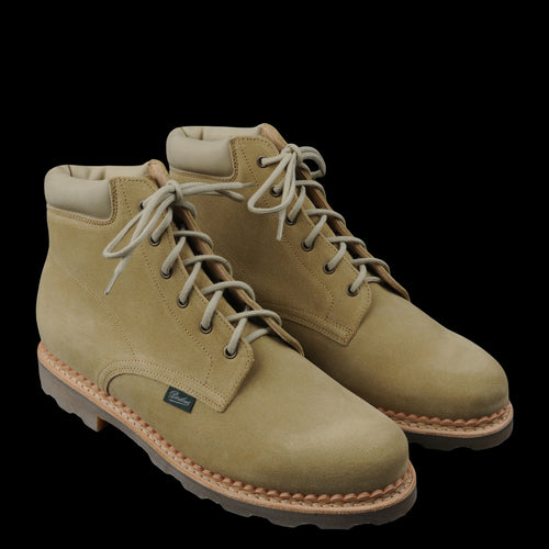 Arpenteur x Paraboot Bergerac Boot in Sand Suede