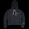 Champion Reverse Weave - Maxi Hooded Full Zip Sweatshirt in Black