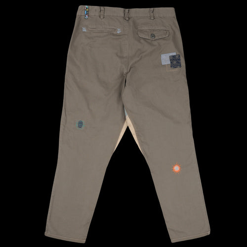Mixed Desert Chino in Green