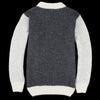 Devold - Nansen Crew Neck in Grey Anthracite & Off White