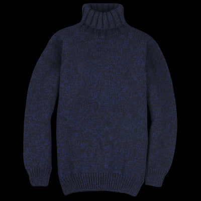 Devold - Nansen High Neck in Navy Melange