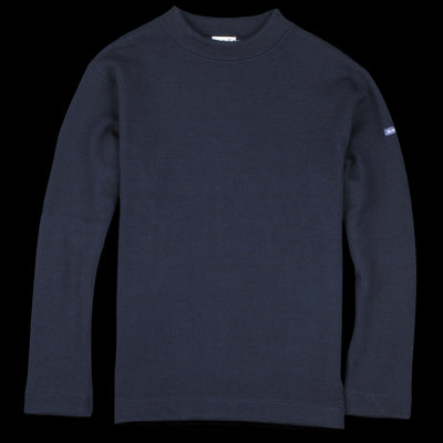 Devold - Blaatrøie Crew Neck in Navy