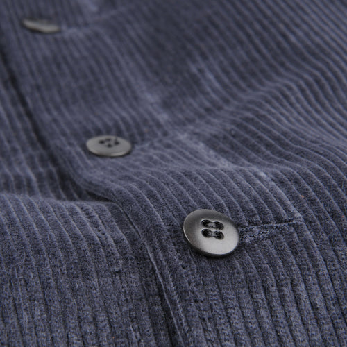 Corduroy Overshirt in Smoke