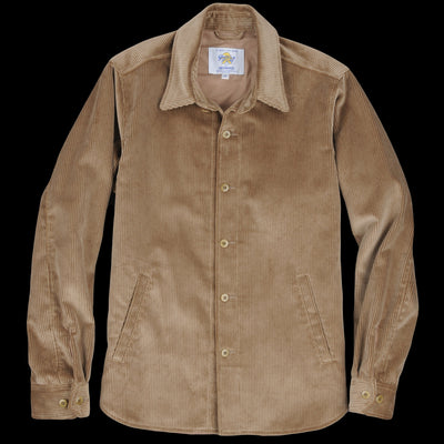 Golden Bear - Corduroy Overshirt in Flax