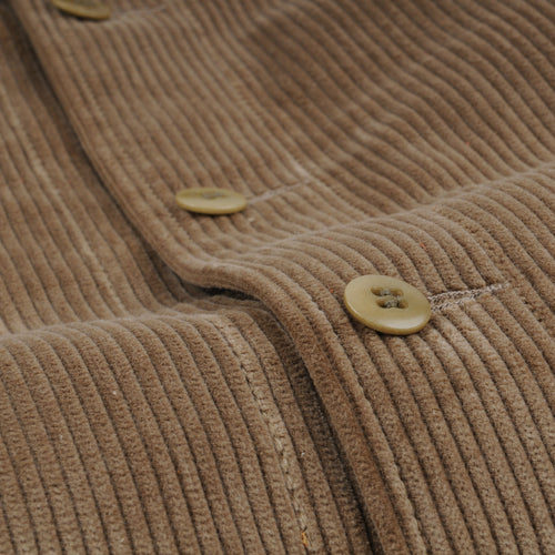 Corduroy Overshirt in Flax