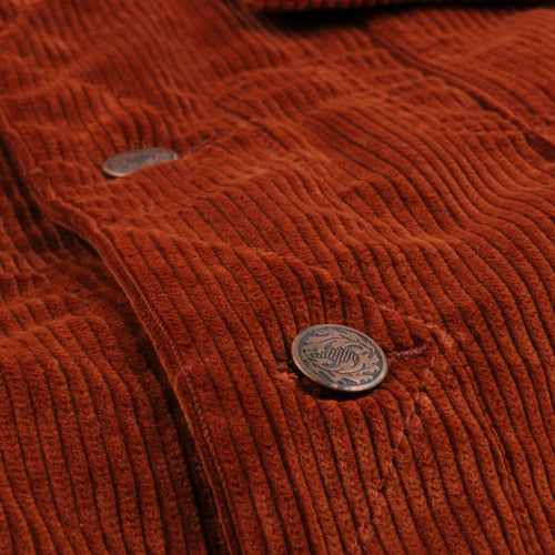 Corduroy Trucker in Cinnamon