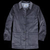 Golden Bear - Corduroy Long Chore Coat in Smoke