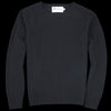 Harley of Scotland for Unionmade - Geelong Crewneck Sweater in Black