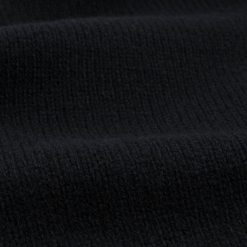 Geelong Crewneck Sweater in Black