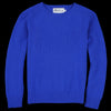 Harley of Scotland for Unionmade - Geelong Crewneck Sweater in Klein