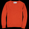 Harley of Scotland for Unionmade - Women - Geelong Crewneck Sweater in Furnace