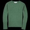 Harley of Scotland for Unionmade - Geelong Mockneck Sweater in Serpentine