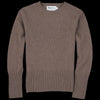 Harley of Scotland for Unionmade - Geelong Mockneck Sweater in Wildebeast