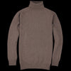 Harley of Scotland for Unionmade - Geelong Turtleneck Sweater in Wildebeast