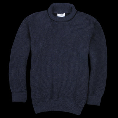 Heimat - The Mini Rollneck Sweater in Ink