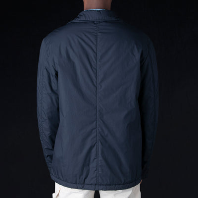 President's - Weather Proof Washed Cotton Ternak Down Jacket in Blue