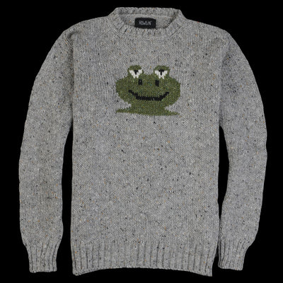 Howlin by Morrison - Frog Life Sweater in Grey