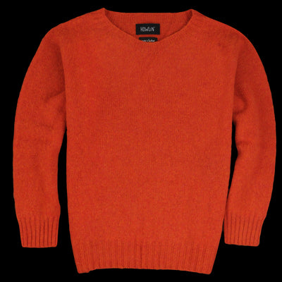 Howlin By Morrison - Solid Space Sweater in Mandarin