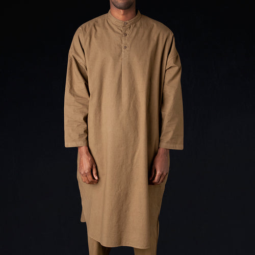 Arashi Long Shirt in Olive
