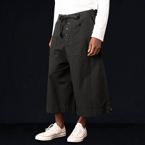 Riku Field Pant in Black