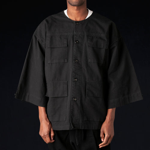 Riku Field Jacket in Black