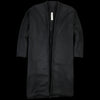 Prospective Flow - Wool Mugi Kimono Coat in Black