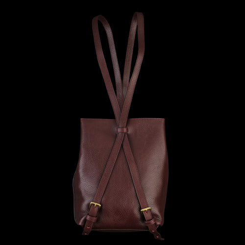 The Mini Sling Backpack in Cordovan