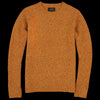 Beams+ - 5G Nep Crew Neck Sweater in Yellow