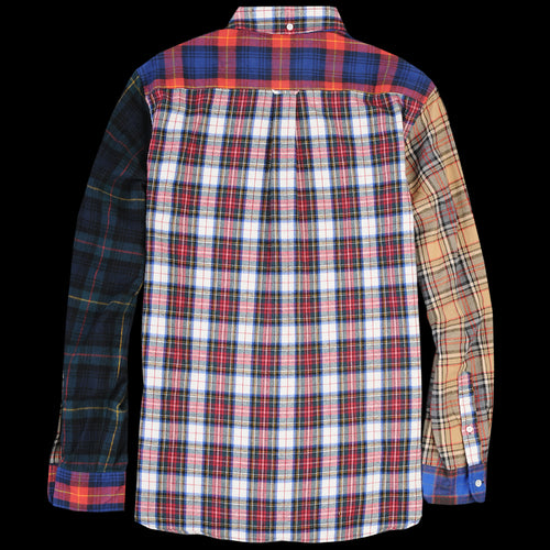 Shaggy Check Button Down Shirt in Tartan Crazy