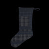 Grei. - Japanese Suiting Patchwork Stocking in Midnight Blue