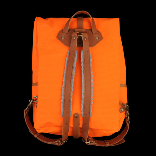 Jamy Backpack in Orange & Caramel