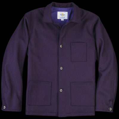 Golden Bear - Bayshore Chore Coat in Grape