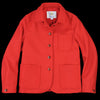 Golden Bear - Women - Portola Chore Coat in Cherry