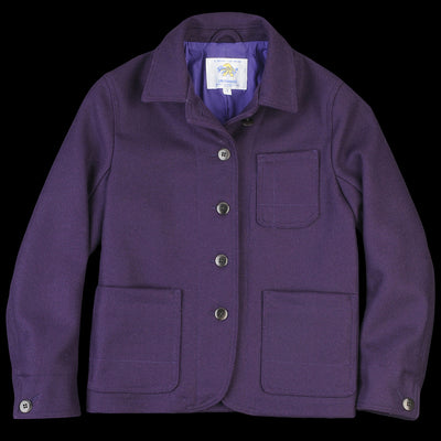 Golden Bear - Portola Chore Coat in Grape