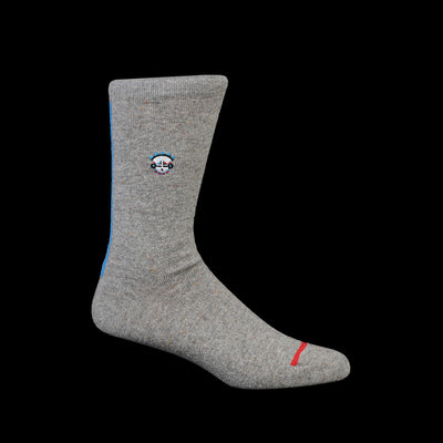 Anonymous Ism - Zuni Embro Crew Sock in Grey