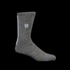 Anonymous Ism - Zuni Embro Crew Sock in Charcoal