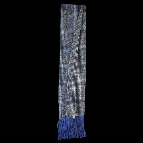 Fringes Prince Scarf in Blue