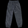 Needles - Paisley Print Dobby Corduroy Center Seam Easy Pant in Charcoal