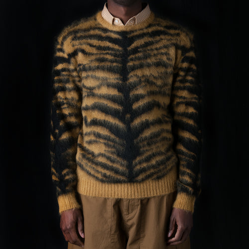 Tiger Mohair Sweater in Gold