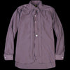 Needles - Ascot Collar EDW Gather Shirt in Purple