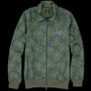 Needles - Flower Jacquard Track Jacket in Green