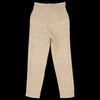 Corridor - Silk Tussa Paper Bag Pant in Natural