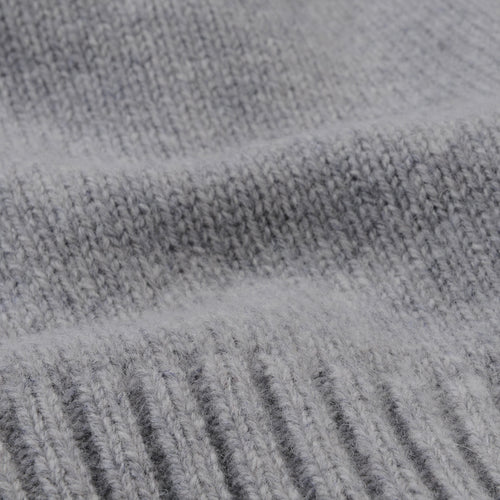 Staple Lambswool Sweater in Light Grey